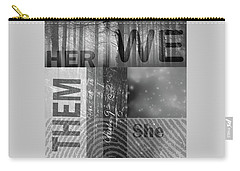 Carry-all Pouch featuring the digital art For Her by Nancy Merkle