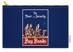 For Peace And Security - Buy Bonds Carry-all Pouch