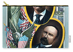 For President - Theodore Roosevelt And For Vice President - Charles W Fairbanks Carry-all Pouch