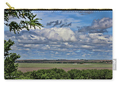 For Spacious Skies Carry-all Pouch by Sylvia Thornton