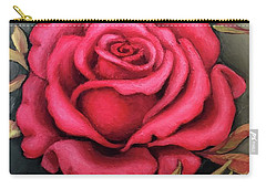 For You, The Red Rose Carry-all Pouch