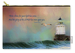 For Your Light Has Come Carry-all Pouch