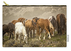 Foraging Carry-all Pouch by Joan Davis