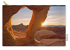 Carry-all Pouch featuring the photograph Forbidden Mojave by Dustin LeFevre