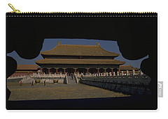 Carry-all Pouch featuring the photograph Forbidden City, Beijing by Travel Pics