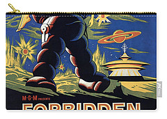 Forbidden Planet Amazing Poster Carry-all Pouch