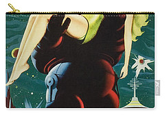 Forbidden Planet In Cinemascope Retro Classic Movie Poster Portraite Carry-all Pouch