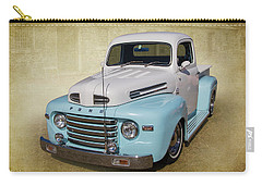 Carry-all Pouch featuring the photograph Ford F1 by Keith Hawley