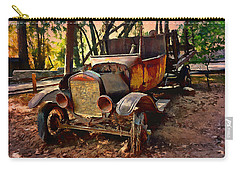Ford Flatbed Truck Carry-all Pouch by Glenn McCarthy Art and Photography