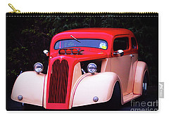 1934 Ford Coupe Hot Rod Carry-all Pouch by Stephen Melia
