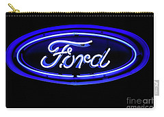Ford Neon Sign Carry-all Pouch