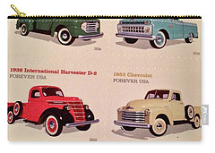 Ford Truck Stamps Carry-all Pouch
