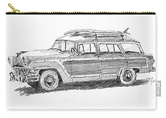 Ford Wagon Sketch Carry-all Pouch