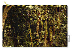 Forest Curve Carry-all Pouch