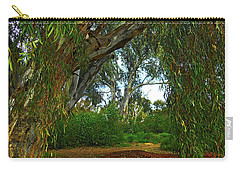 Carry-all Pouch featuring the photograph Forest Dreams by Mark Blauhoefer