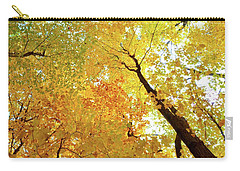 Forest Fall Yellow  Carry-all Pouch