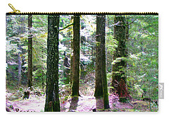 Carry-all Pouch featuring the photograph Forest Giants by Sadie Reneau