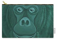 Forest Green Orangutan Carry-all Pouch