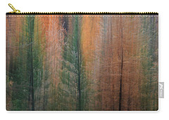 Forest Illusion- Autumn Born Carry-all Pouch