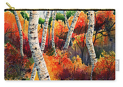 Forest In Color Carry-all Pouch