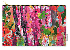 Forest In Sunset Carry-all Pouch