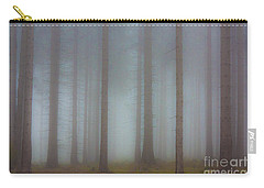 Forest In The Fog Carry-all Pouch by Michal Boubin