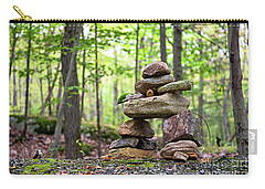 Forest Inukshuk Carry-all Pouch