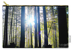 Forest Light Rays Carry-all Pouch
