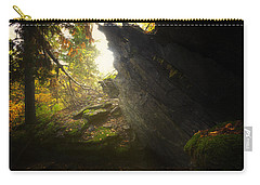 Forest Light Trail Carry-all Pouch