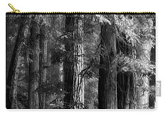 Forest Monochrome Carry-all Pouch