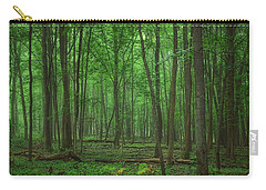 Forest Of Green Carry-all Pouch
