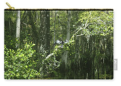 Forest Of The Swamp Carry-all Pouch