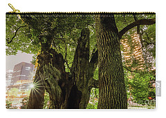 Carry-all Pouch featuring the photograph Forest Of Tokyo by Tatsuya Atarashi