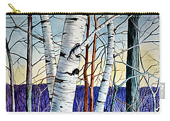 Forest Of Trees Carry-all Pouch