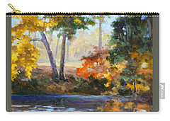 Forest Park - Autumn Reflections Carry-all Pouch