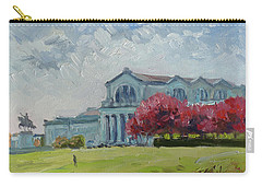 Forest Park Sunny Morning St.louis Carry-all Pouch