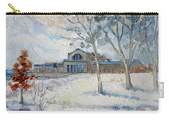 Forest Park Winter Carry-all Pouch