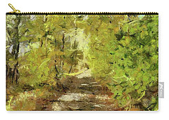 Forest Road Carry-all Pouch by Dragica Micki Fortuna