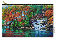 Forest Stream II Carry-all Pouch by Michael Frank