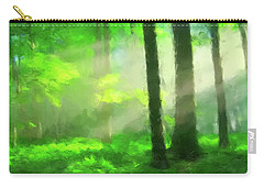 Forest Sunlight Carry-all Pouch by Gary Grayson