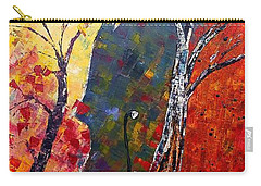 Forest Symphony Carry-all Pouch by AmaS Art
