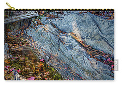 Carry-all Pouch featuring the photograph Forest Tidal Pool In Granite, Harpswell, Maine  -100436-100438 by John Bald