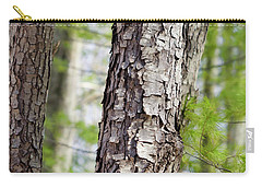 Carry-all Pouch featuring the photograph Forest Trees by Christina Rollo