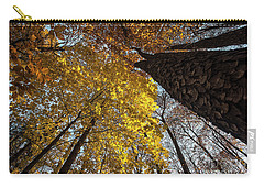 Forest Trees-yellow-orange Carry-all Pouch