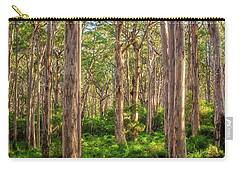 Carry-all Pouch featuring the photograph Forest Twilight, Boranup Forest by Dave Catley