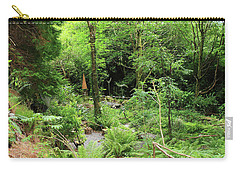 Forest Walk Carry-all Pouch by Aidan Moran