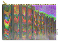 Carry-all Pouch featuring the digital art Forests Of The Night by Wendy J St Christopher