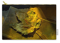 Carry-all Pouch featuring the photograph Forever Autumn by LemonArt Photography