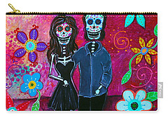 Carry-all Pouch featuring the painting Forever Love by Pristine Cartera Turkus