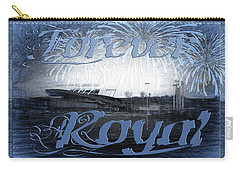 Carry-all Pouch featuring the photograph Forever Royal by Andee Design